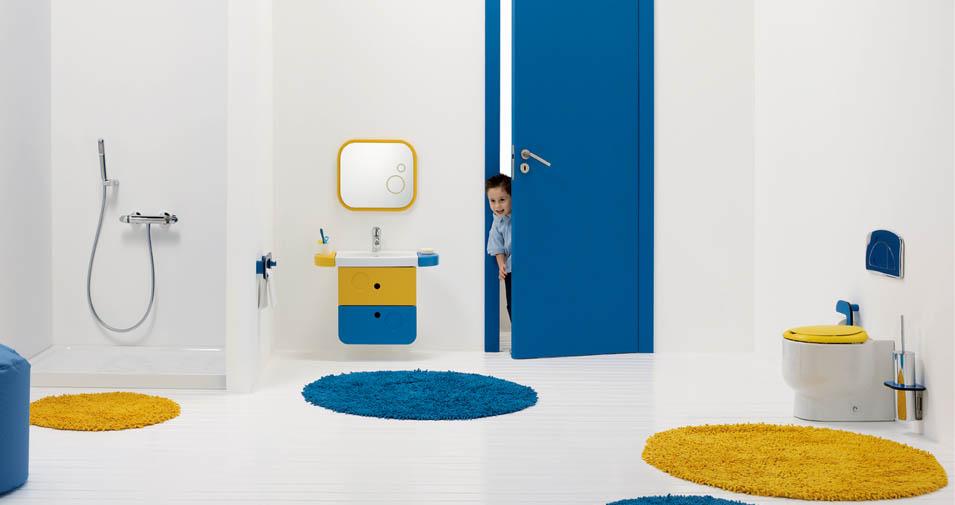 Ideas para reformar el ba o infantil con materiales de - Materiales para bano ...