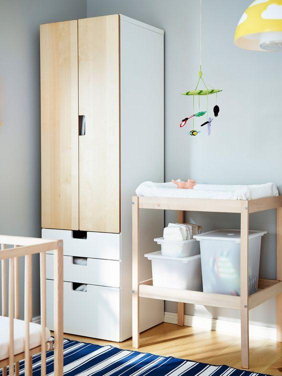 armarios organizadores cuarto bebe