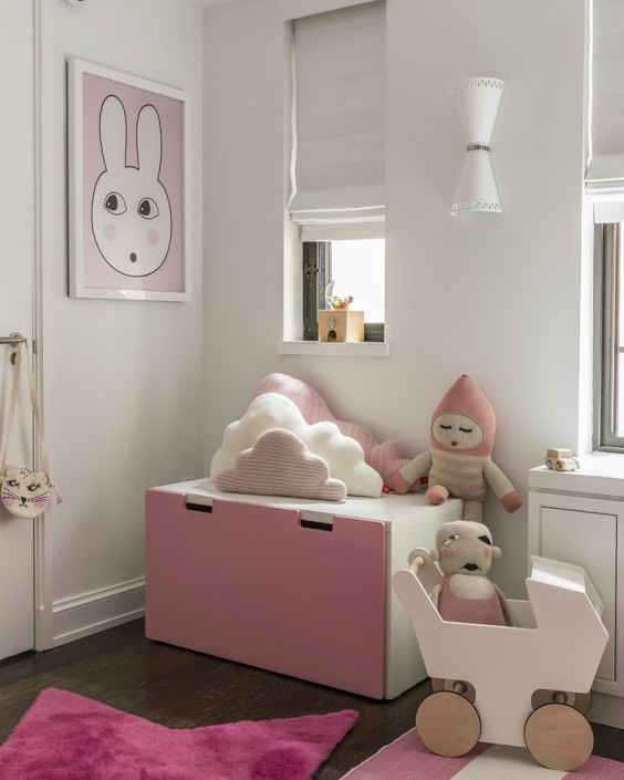 C mo decorar la habitaci n del beb 25 ideas y tendencias con mucho estilo decopeques - Armarios de bebe ...
