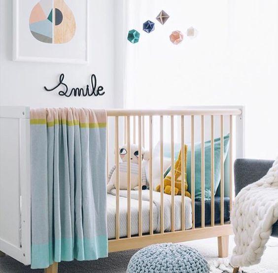 Cómo decorar la habitación del bebé: 25 ideas y tendencias con mucho ...