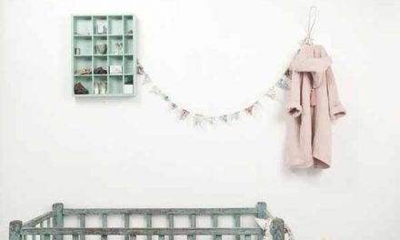 Muebles y complementos vintage para la habitación infantil