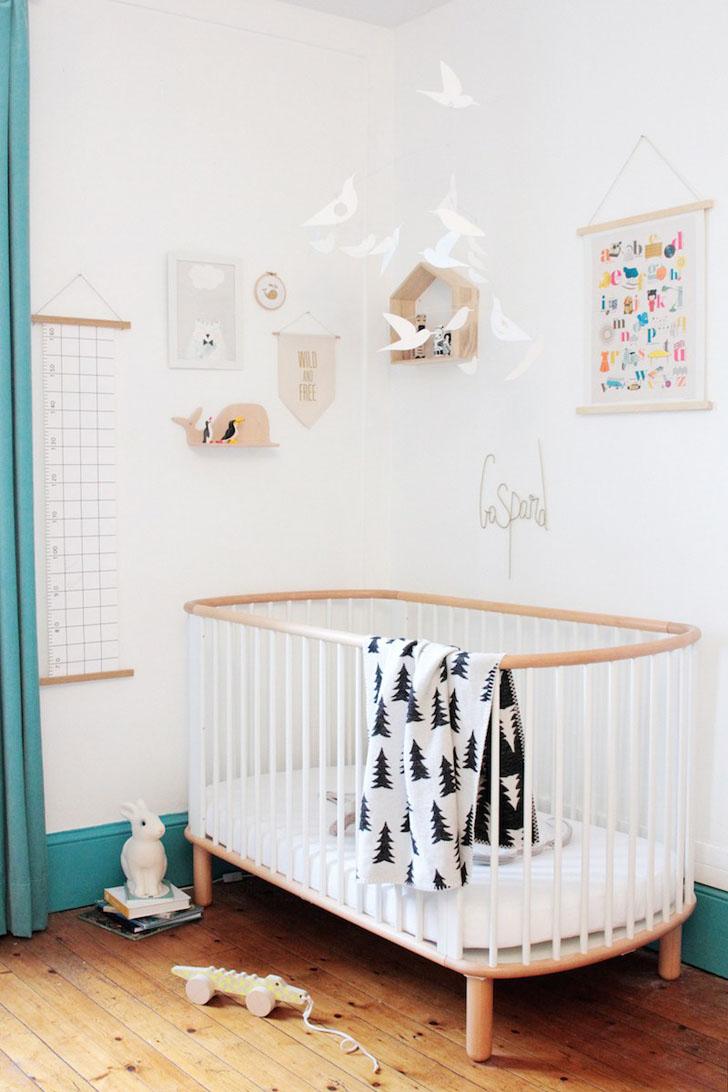 habitacion-infantil-turquesa-cuna
