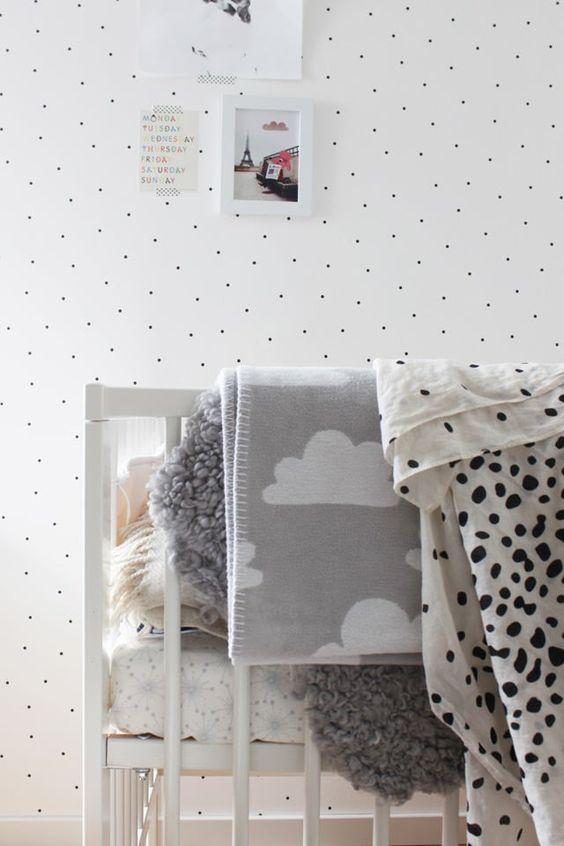 mantas y textiles cuna bebe