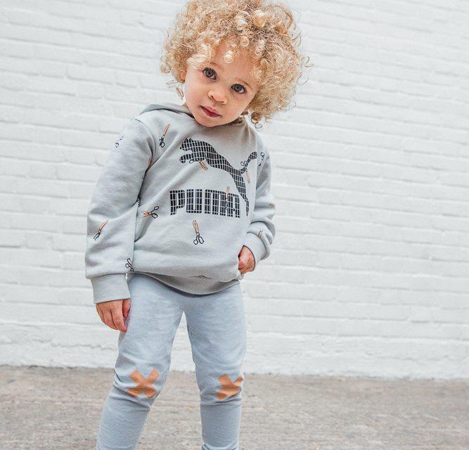 Inspiración deportiva y urbana en la nueva colección primavera-verano de Puma y Tinycottons