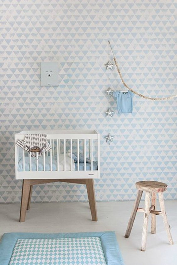 paredes dulces bebe papel pintado