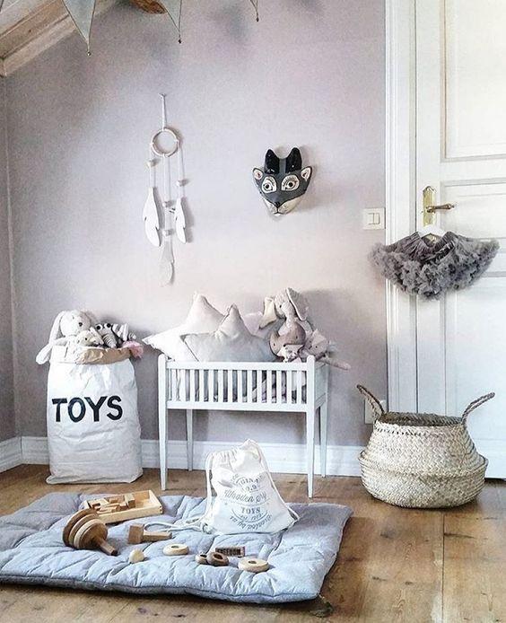 sacos almacenaje cestas cuarto bebe