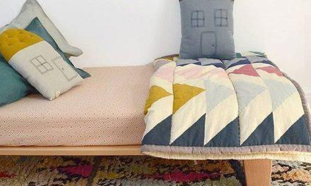 Inspiración en textiles para el cuarto infantil