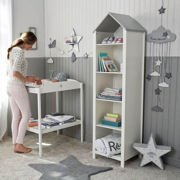 Ideas decorativas con estrellas para el cuarto infantil - Alfombra habitacion bebe ...
