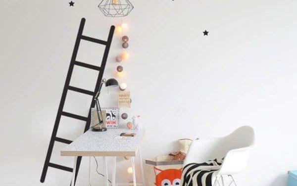 Ideas decorativas con estrellas para el cuarto infantil