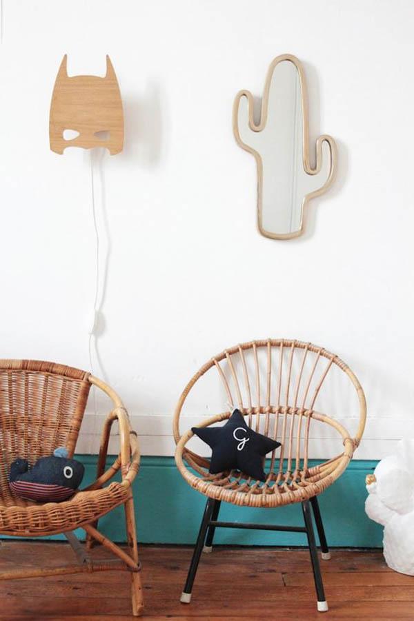 5 muebles y accesorios de mimbre para el hogar | DecoPeques
