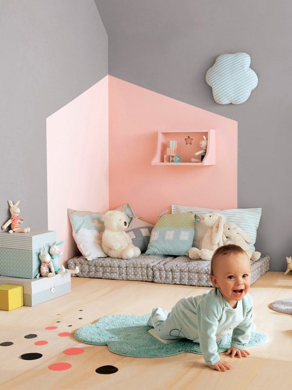 Consejos para pintar la habitaci n infantil decopeques - Pintura paredes 2017 ...