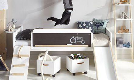 Arriba y abajo doble dormitorio infantil por thomas - Camas infantiles divertidas ...