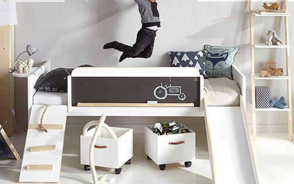 5 camas infantiles súper divertidas