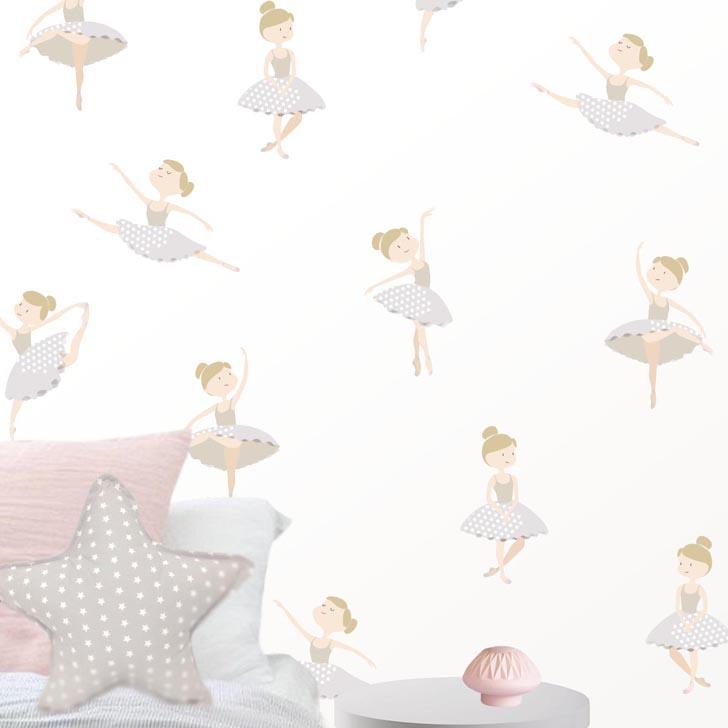 dos tonos perfectos para combinar con cualquier cuarto infantil de nias qu os han parecido los bonitos vinilos decorativos de dolce vinilo