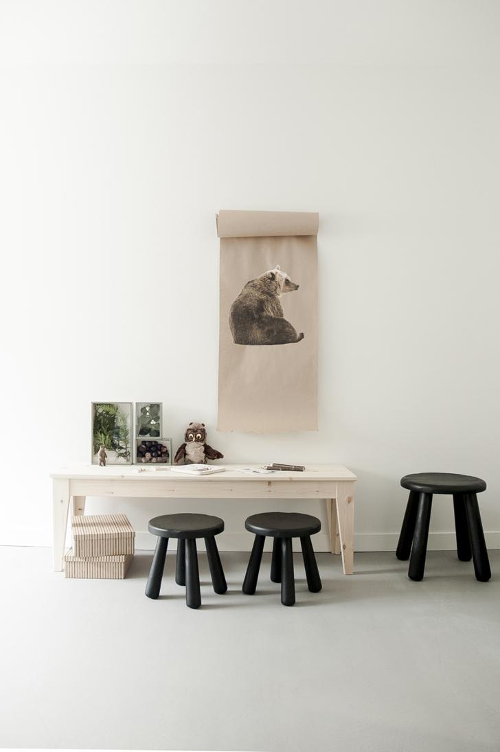 Muebles de ikea para un cuarto inspirado en el bosque for Muebles infantiles ikea