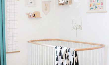 5 Formas de decorar cuartos de bebé con cunas blancas