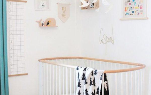 formas de decorar cuartos de beb con cunas blancas