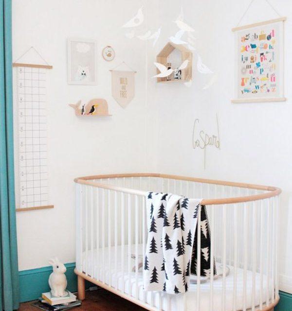 5 Formas de decorar cuartos de bebé con cunas blancas | DecoPeques