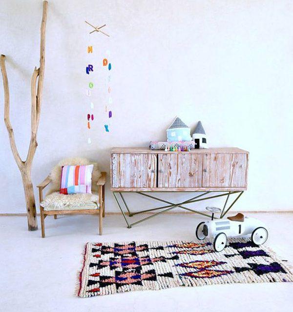 5 Habitaciones infantiles para pequeños bohemios