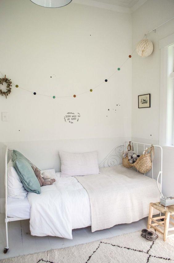 6 ideas en color blanco para decorar los cuartos - Habitaciones infantiles en blanco ...