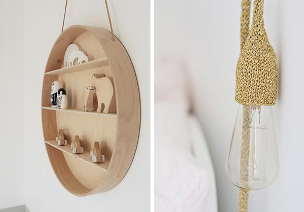 Habitación infantil con decoración dulce y atemporal