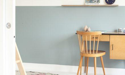 Dormitorio infantil en madera y tonos azules