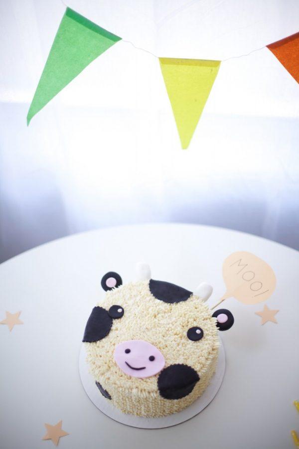 hacer una tarta para cumpleaos infantiles decorada como una vacau libre de lactosa me parece una propuesta muy original y with para cumpleaos de nios