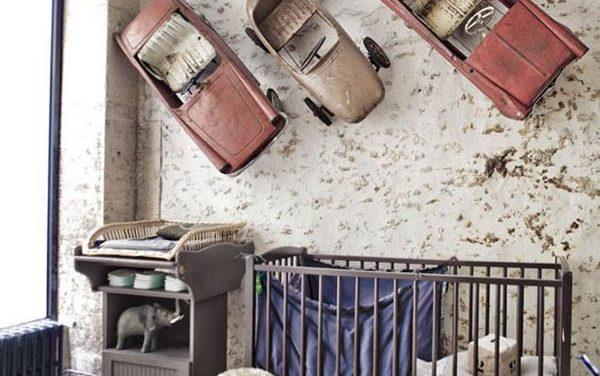 Habitaciones vintage decopeques - Habitaciones ninos originales ...