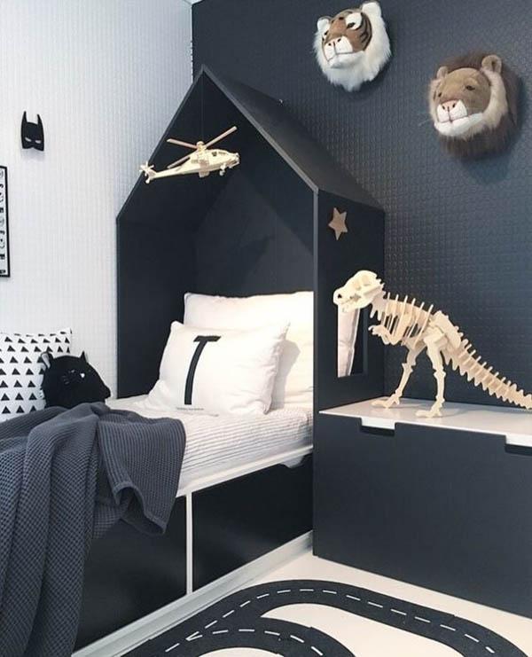 Nuevas ideas en blanco y negro para los cuartos infantiles - Habitaciones infantiles en blanco ...
