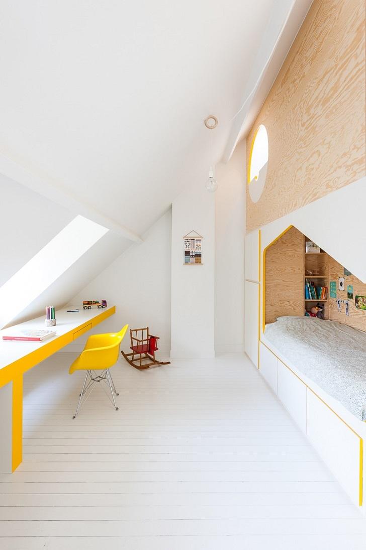 Mueble original y multiusos para una habitación compartida | DecoPeques
