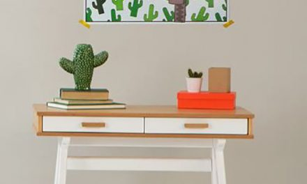 Decoración infantil con divertidos cactus