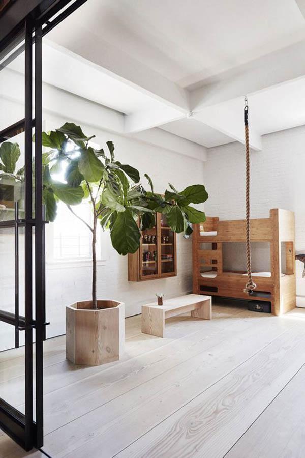 Habitaciones infantiles decoradas solo con madera decopeques - Habitaciones infantiles decoradas ...