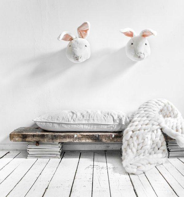 Inspiración deco con lindos conejitos
