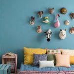 5 habitaciones originales y divertidas en azul