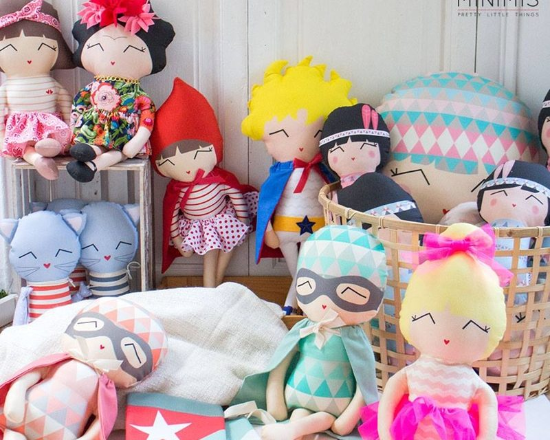 Las Minimís, muñecas diferentes hechas a mano