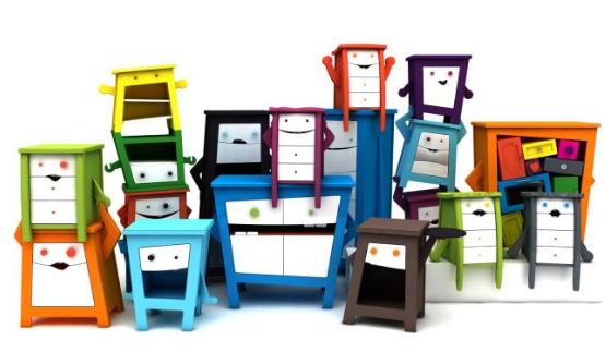 Mobelebt muebles felices para ni os decopeques for Muebles originales para ninos