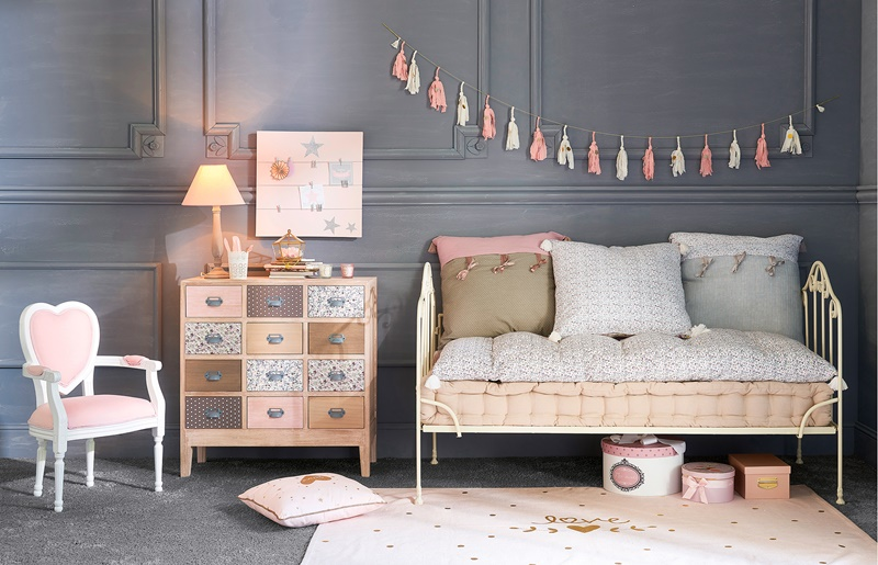 inspiraci n en la colecci n junior de maisons du monde decopeques. Black Bedroom Furniture Sets. Home Design Ideas