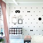 Ideas para decorar una pared infantil sin pintura