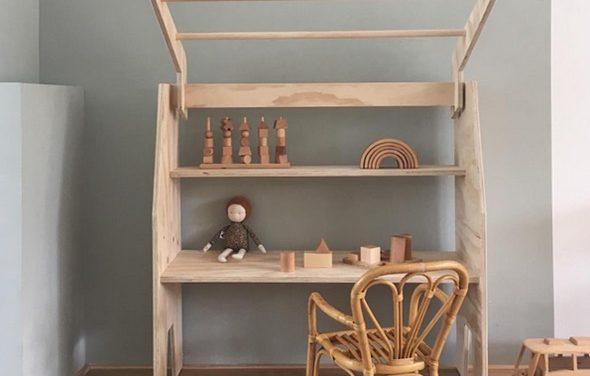 Dormitorios infantiles llenos de madera