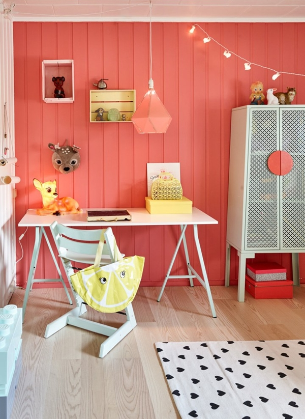 Paredes infantiles tendencias en color para 2018 decopeques - Tendencias pintura paredes ...