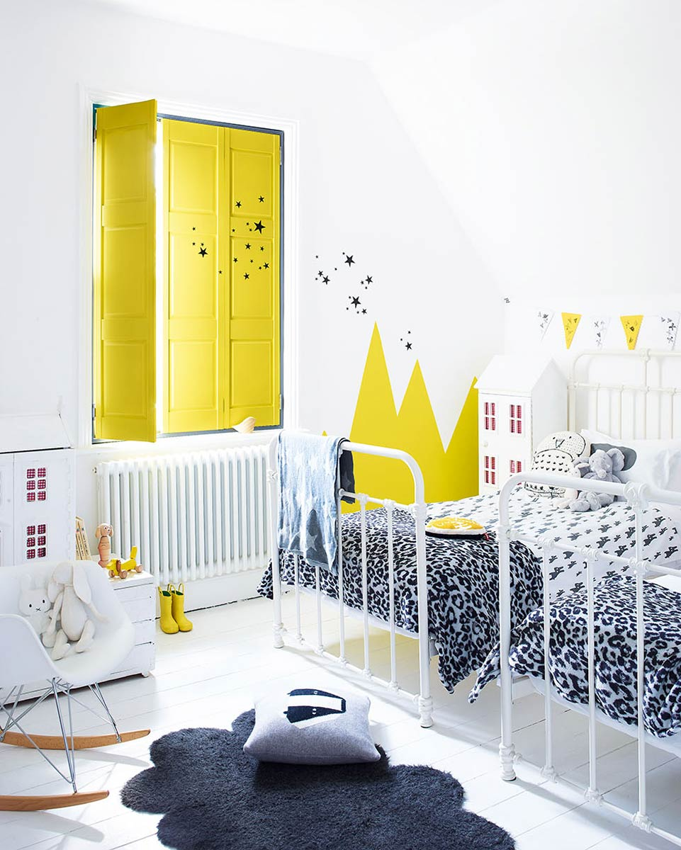 Paredes infantiles tendencias en color para 2018 decopeques - Tendencias pintura paredes 2017 ...