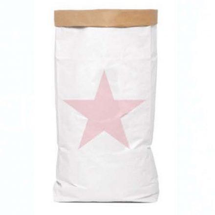 Be-Nized Bag Organizador de Juguetes Estrella Rosa