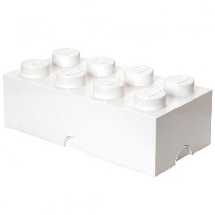 Brick Lego de Almacenamiento 8 Blanco