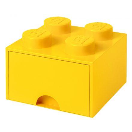 Brick Lego de Almacenamiento Cajones 4 Amarillo