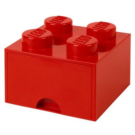 Brick Lego de Almacenamiento Cajones 4 Rojo