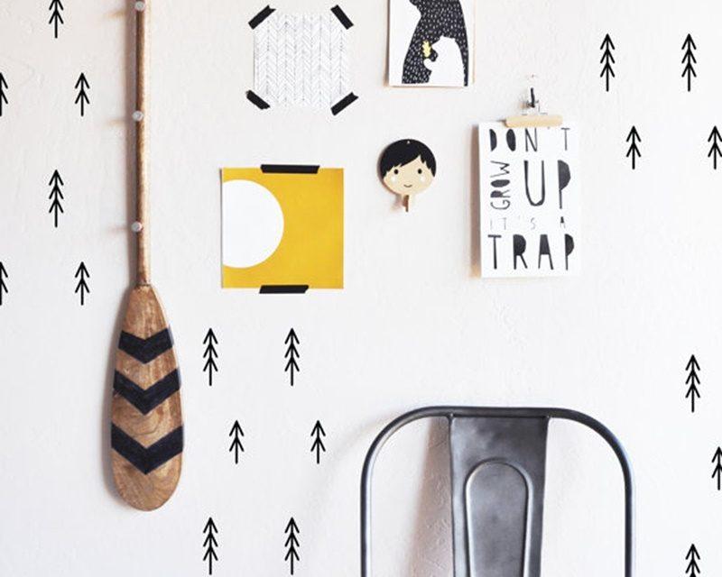 Pegatinas para decorar paredes infantiles decopeques - Pintar paredes infantiles ...