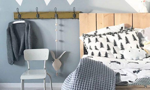 Habitaciones infantiles con colores fríos