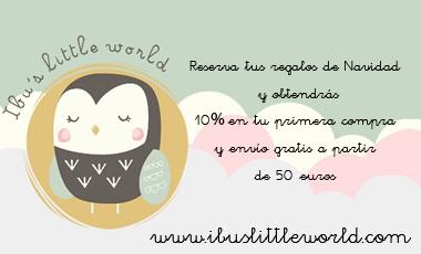 IBU'S LITTLE WORLD: 10% DESCUENTO Y ENVÍO GRATIS