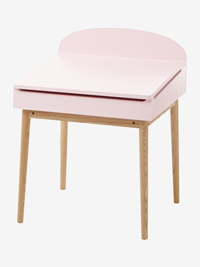 Escritorio pupitre especial guardería Confetti rosa / madera