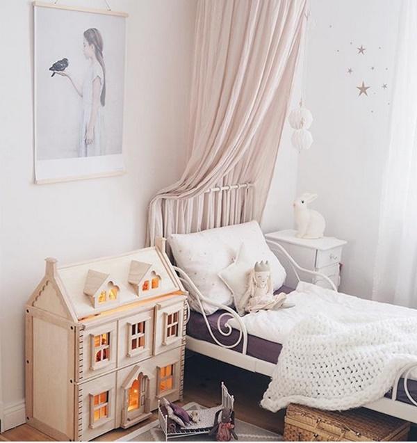 Dormitorios infantiles n rdicos con toques amaderados - Dormitorios infantiles nordicos ...